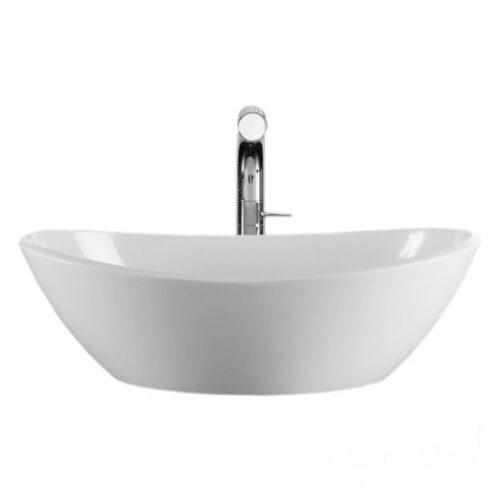 V&A Amalfi 55 rimless countertop basin