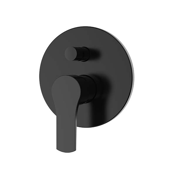CACHET Erebus Black Bath, Shower Diverter Mixer