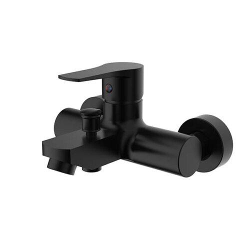 CACHET Erebus Black Bath Mixer Complete