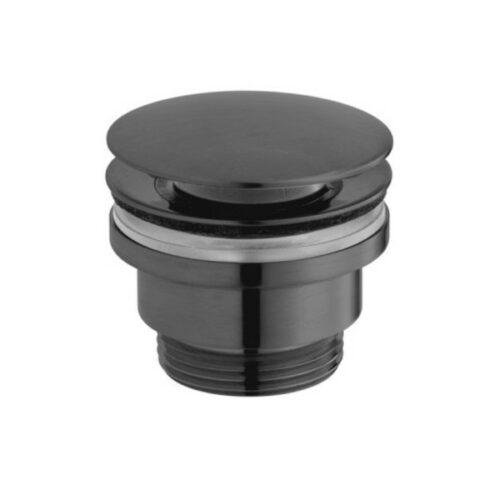 VADO Universal Basin Waste Pop-Up Brushed Black