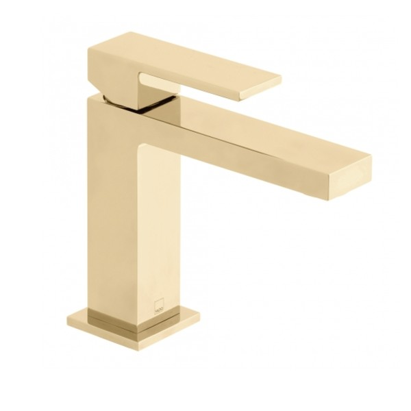 Bright Gold Slimline Mono Basin Mixer