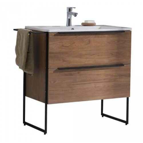 Gio Bella Loft-600 Vanity Set Cherry