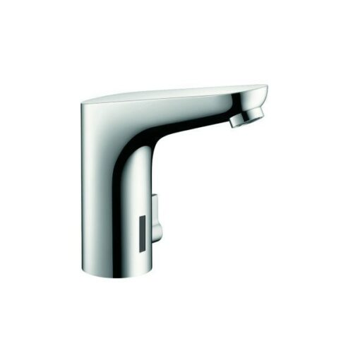 Hansgrohe Electronic basin mixer, battery operated with temperature control Includes filter angle valves, chrome.