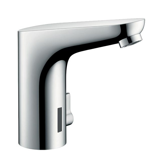 Decor battery operated electronic basin mixer, chrome