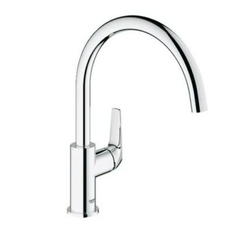 Grohe BauFlow Single Lever Sink Mixer Chrome