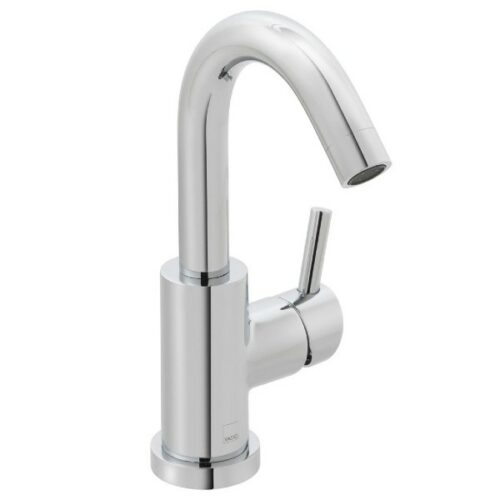 Elements air mono sink mixer single lever deck mounted with swivel spout