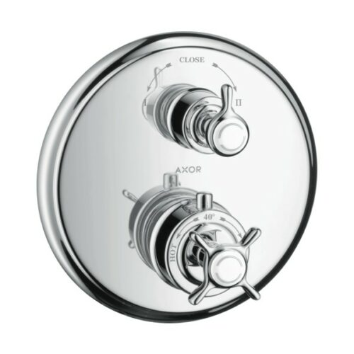 AXOR Montreux concealed thermostatic mixer with shut-off/diverter valve chrome