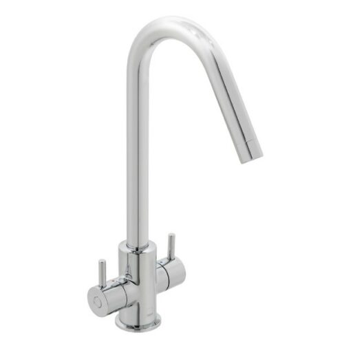 Sky mono sink mixer deck mounted with swivel spout