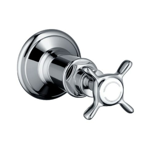 "AXOR Montreux shut-off valve 1/2"" / 3/4"" chrome"